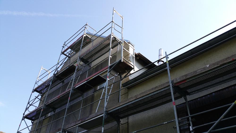 Fassadenreinigung - Klinkens Malerbetrieb